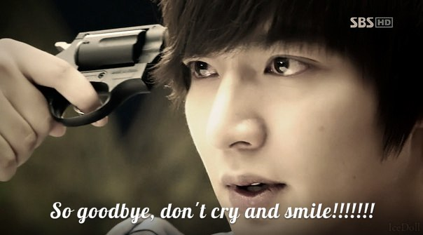 So goodbye,don't cry and smile Jonghyun (SHINee)
